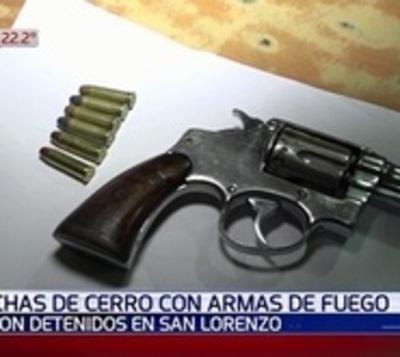 Detuvieron a hinchas de Cerro Porteño que iban armados al estadio