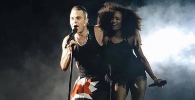 "HOY / Robbie Williams, un ""ángel"" conquistó al público paraguayo"