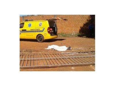 Mujer murió aplastada por un portón de hierro