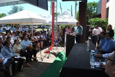 Jornada de gobierno departamental en Ayolas
