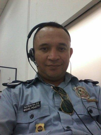 """UN POLICÍA CHOFER """"Piensan es broma"""""""