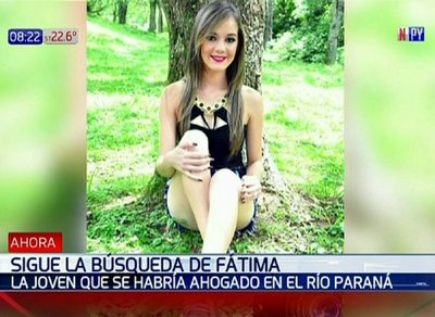 Continúan buscando a joven que desapareció en el río Paraná