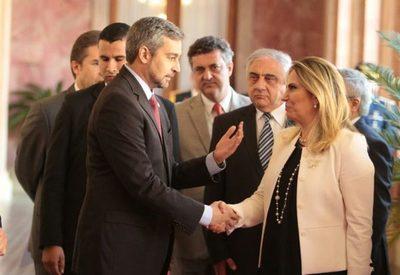 Abdo Benítez recibió en audiencia a la gobernadora del Estado de Paraná