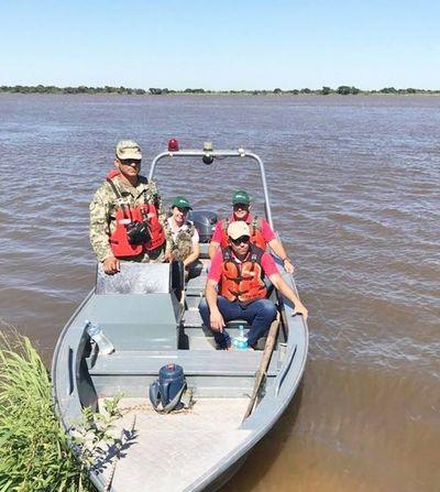 Continúan controles fluviales por veda pesquera