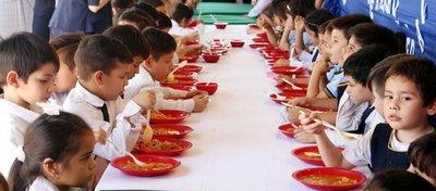 Cortan almuerzo escolar en Lambaré