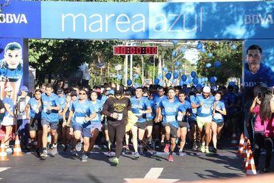 Exitosa carrera 'Marea Azul' del BBVA