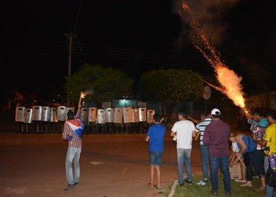 Siguen las protestas contra Urbieta en Concepción
