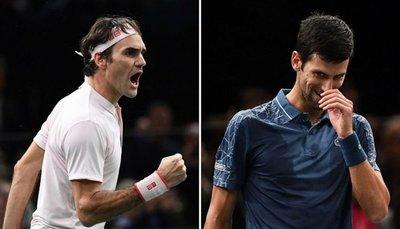 Duelo de 'maestros' entre Djokovic y Federer en Londres