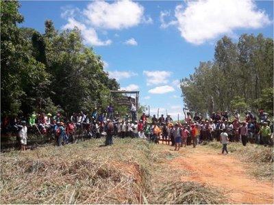 Sintierras exigen al Gobierno compra de tierras en Maracaná