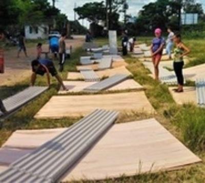 SEN registra más de 6.000 familias evacuadas por crecida en Asunción