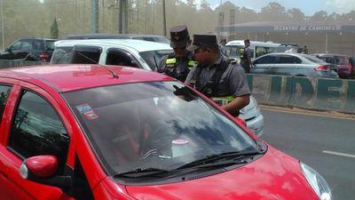 Patrulla Caminera retiró de las rutas a 345 ebrios en la semana