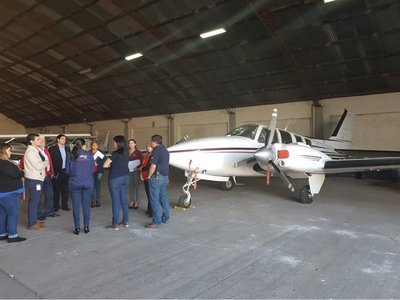 Caso Messer: Incautan avión en hangar de Cartes
