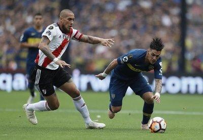 Copa Libertadores: Boca y River empatan en la final de ida