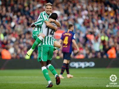 Lo mejor de la victoria del Real Betis sobre Barcelona