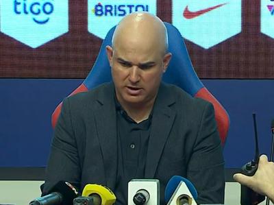 Fernando Jubero en conferencia de prensa