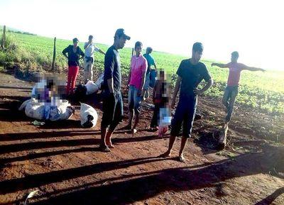 Denuncian ataque a comunidad nativa en Canindeyú