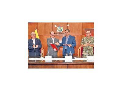 Defensa sella  cooperación para apoyar obras  en Misiones