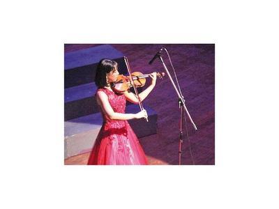 Virtuosa violinista coreana ofrece un concierto esta noche