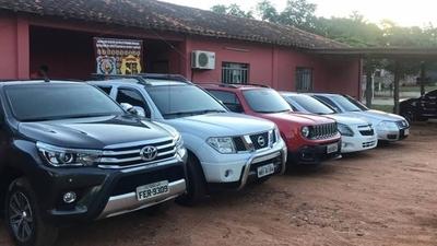 HOY / Detenido en Canindeyú con 5 vehículos robados en el Brasil