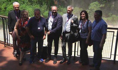 Miembros del Comité Internacional de Museos visitan Saltos del Monday