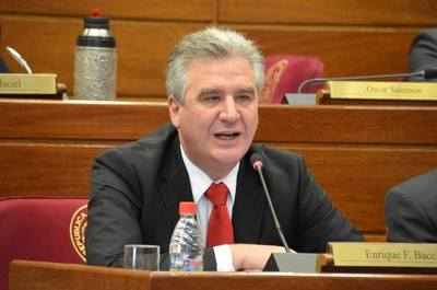 Bacchetta señala que corresponde la destitución del ministro Sindulfo Blanco