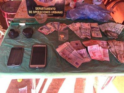 SENAD incauta dosis de drogas en Piribebuy