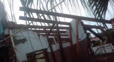 Familia abandonó su casa debido a edificio en construcción