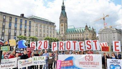 Gremios protestan contra Macri y el G20