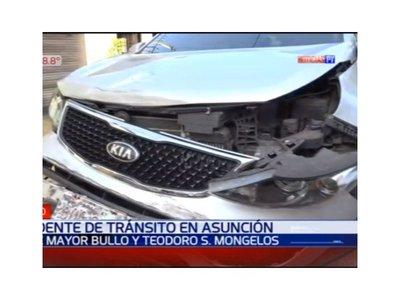 Dos mujeres arrolladas por un automovilista en Asunción