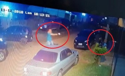 Sicarios utilizaron camioneta robada en el Brasil