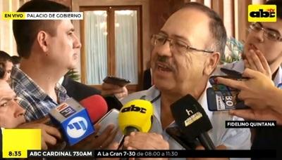 Abdo Benítez se reúne con padre de Rodrigo Quintana y promete aclarar crimen
