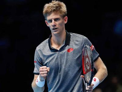 Anderson vence a Nishikori y lidera su grupo en las Finales ATP