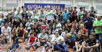 Fomento de Fátima  de San Lorenzo se consagró campeón de la Intermedia