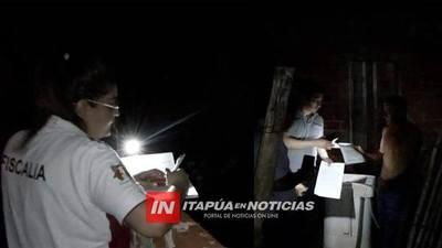 INTENSA BÚSQUEDA DEL FEMINICIDA CON DOS ALLANAMIENTOS EN ITÁ PASO