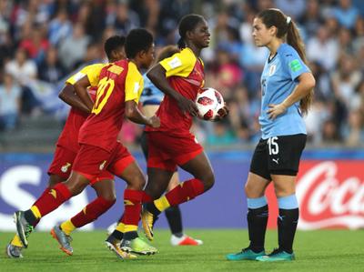 Uruguay cae a los pies de Ghana en el inicio del Mundial Sub-17