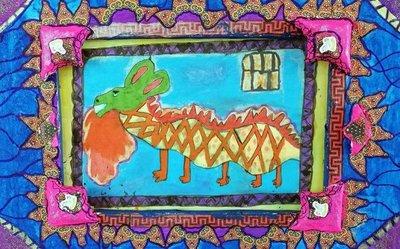 Niños se inspiran en una obra de Ignacio Núñez Soler