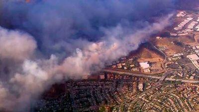 Los muertos por los incendios en California alcanzan el medio centenar