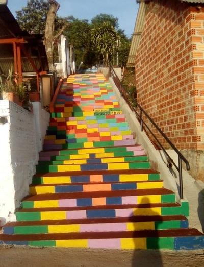 Mejoras en la escalinata serán inauguradas el sábado