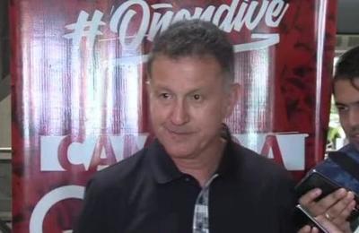 DT de la selección paraguaya de fútbol habló con la prensa