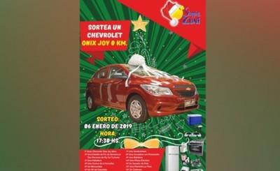 Shopping Zuni sortea un auto 0km