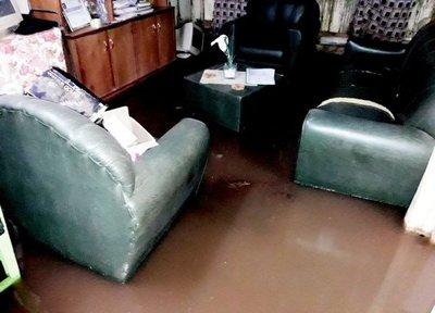 Temporal causa daños en Oviedo