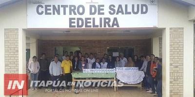EXITOSA MARATÓN A FAVOR DEL CENTRO DE SALUD DE EDELIRA