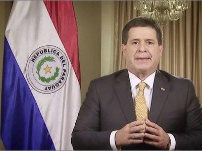 Oficial: Horacio Cartes anunció que en ningún caso se presentará como candidato a presidente para el período 2018-2023