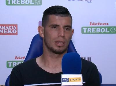 Rubén Monges, zaguero de Sportivo Luqueño