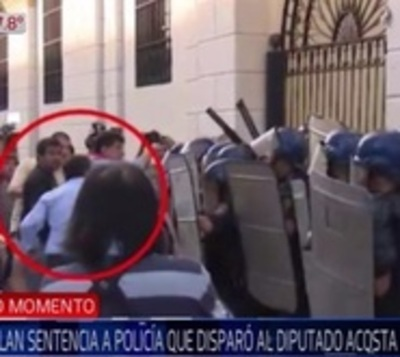31M: Anulan condena contra policía que disparó el rostro a diputado