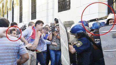 Condena de policía que disparó en el rostro a diputado Édgar Acosta fue anulada