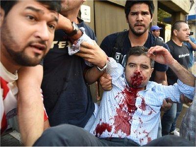 Anulan pena de policía que disparó contra el diputado Édgar Acosta