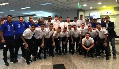 La Selección Sub 20 ya se encuentra en Chile