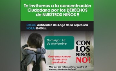 Invitan a charla de prevención del abuso infantil