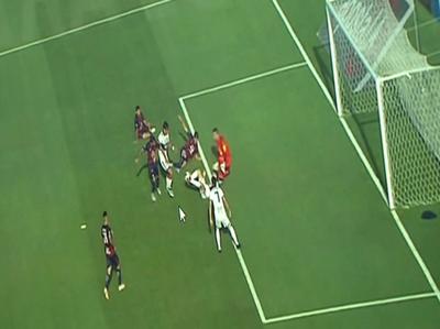 El gol de Camacho fue lícito, según Dirección de Árbitros